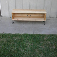 Sculpin: Entertainment center, Console stand, hand crafted, wooden tv tand , furniture