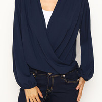 Solid Woven Blouse