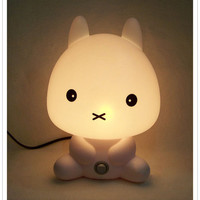Baby Bunny Rabbit Lamp