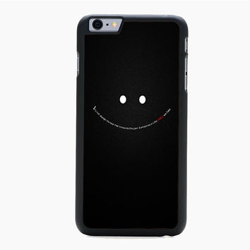 Smile with Words For iPhone 6 Plus iPhone 6 Case