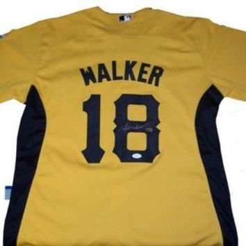 ESBONY Neil Walker Signed Autographed Pittsburgh Pirates Baseball Jersey (JSA COA)