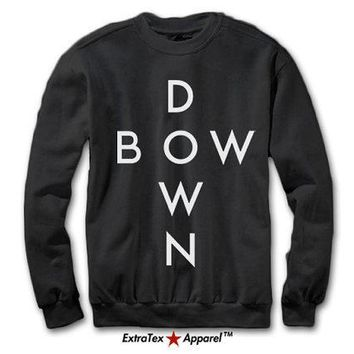 Bow Down Beyonce Sweatshirt | Beyonc¨¦ Surfboard Sweatshirt | Flawless