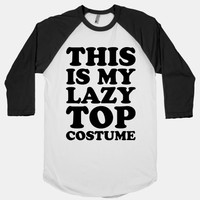 This Is My Lazy Top Costume