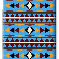 Navajo Blue Pattern iPhone 6 Case