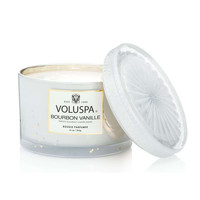 VOLUSPA BOURBON & VANILLE-CORTA MAISON CANDLE WITH LID