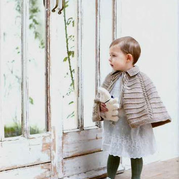 Organic Knit for Baby by Chie Kose - Japanese Knitting and Crocheting Pattern Book for Babies - B815
