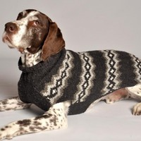 Gray Diamonds - Chilly Dog Sweaters