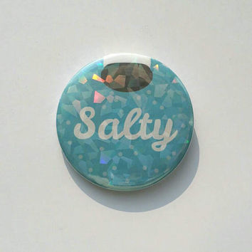 58mm Button - Salty