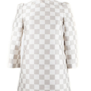 Checkered Mod Dress