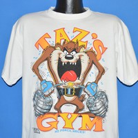 90s Taz's Gym Looney Toons t-shirt Extra Large