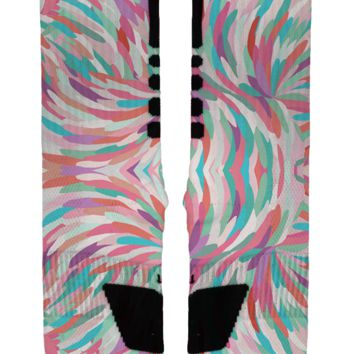 Brushed Feathers Custom Nike Elites