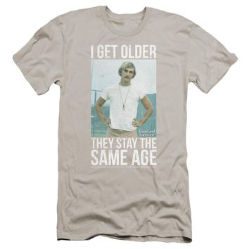 Dazed And Confused - I Get Older Premuim Canvas Adult Slim Fit 30/1