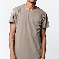 Reign+Storm Scallop Solid Tee