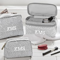 TRAVEL BEAUTY BUNDLE, GRAY MINIDOT