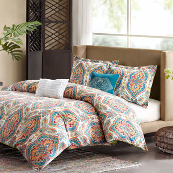 Ideology Alexis Sateen Comforter Set & Accessories