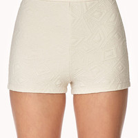 Quilted Geo Shorts