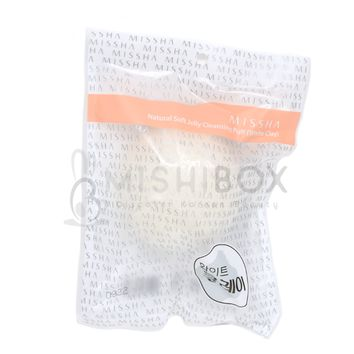 MISSHA Natural Konjac Cleansing Puff (White Clay)