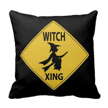 Witch Xing Throw Pillow