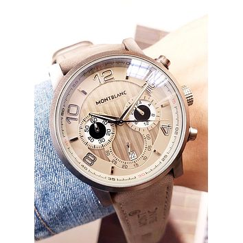 Montblanc Tide brand high-end men and women waterproof quartz watch #2