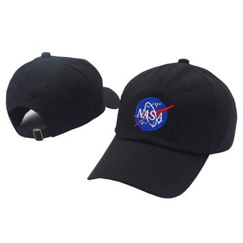 Perfect NASA Women Men Embroidery Baseball Cap Hat Sports Sun Hat