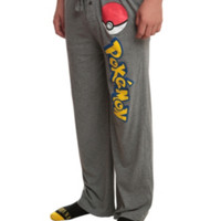 Pokemon Logo Men's Pajama Pants