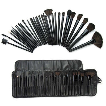 24Pcs Pro Makeup Brushes Set Gift