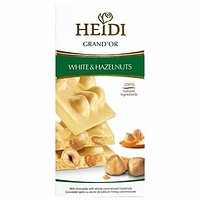 Heidi Grand'Or White Chocolate Hazelnuts & Cornflakes 3.5 oz (100g)