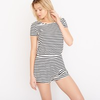 Stripe T-Shirt Romper