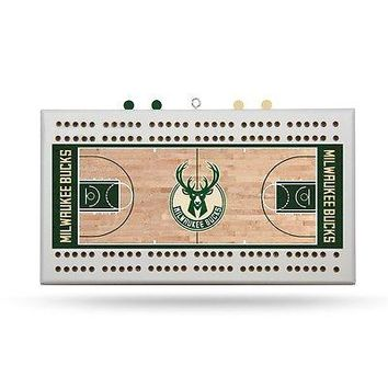 Milwaukee Bucks NBA Licensed Cribbage Board