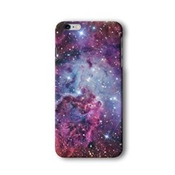 Iphone 6/6s Plus Case, Galaxy Nebula Pattern 3d-sublimated, Mobile Accessories.