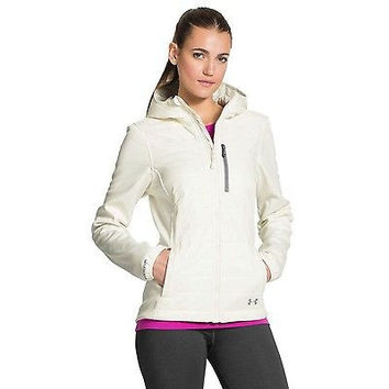 Under Armour UA ColdGear Infrared Werewolf Jacket - Women's Ivory / Steeple G...