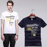 Summer Stylish Casual Short Sleeve Men's Fashion T-shirts [6544644547]