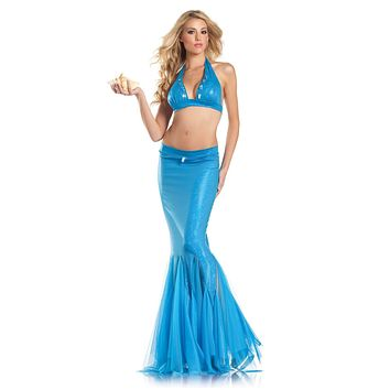 Two Piece Mermaid Costume