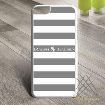 Polo Ralph Lauren Black White Stripes Custom case for iPhone, iPod and iPad