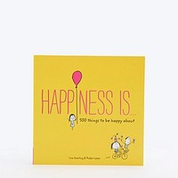 Happiness Is Book - Urban Outfitters