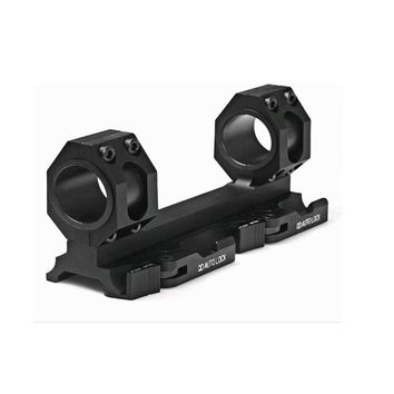 TENSDARCAM Tactical Dual Ring Cantilever Heavy Duty Scope Mount 25mm/30mm QD Auto Lock Adapter Picatinny Weaver