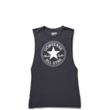 Converse - Womens All Star Muscle Tank - Charcoal