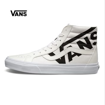 Vans Winter White high help neutral board shoes casual Shoes