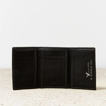 AEO Trifold Leather Wallet | American Eagle Outfitters