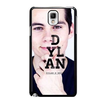 DYLAN O'BRIEN Samsung Galaxy Note 3 Case Cover