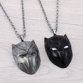 Black Panther Necklaces Men Women Gifts