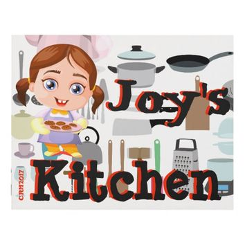 Chef's Kitchen Wall Hanging Panel Wall Art