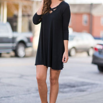 Get Over It Dress, Black
