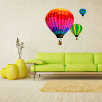 Full Color Wall Decal Vinyl Sticker Decor Art Bedroom Design Mural Like Paintings Hot Air Baloon Balloon (col452)
