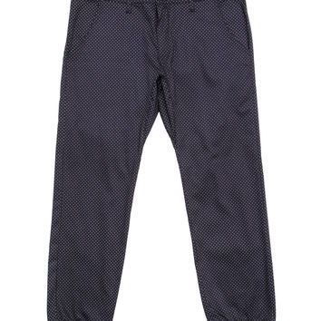 Kennedy Denim Co. - Rugger Pants (Navy/Polka Dot)