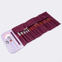 Portable 22 Pcs Professional Makeup Set Eyeliner Cosmetic Brushes = 1705281348