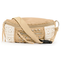 T-Shirt & Jeans Camel Crochet Studded Fanny Pack at Zumiez : PDP