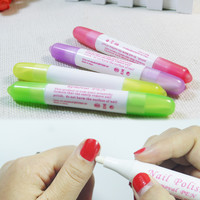 1pcs Nail Art Corrector Pen Remove Mistakes+3 Tips Newest Nail Polish Corrector Pen Cleaner Erase Manicure for nail polish clean