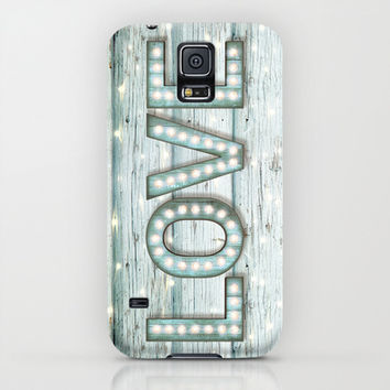 Love is the Light of Your Soul (LOVE lights II) iPhone & iPod Case by soaring anchor designs ⚓ | Society6