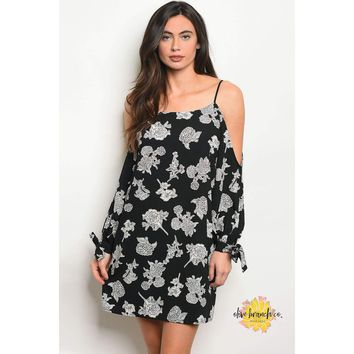 Lexi Floral Cold Shoulder Dress